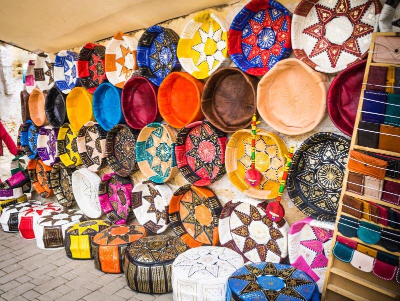 Παζάρι Fez, χειροτεχνικό κατάστημα, Μαρόκο Medina στοκ εικόνες