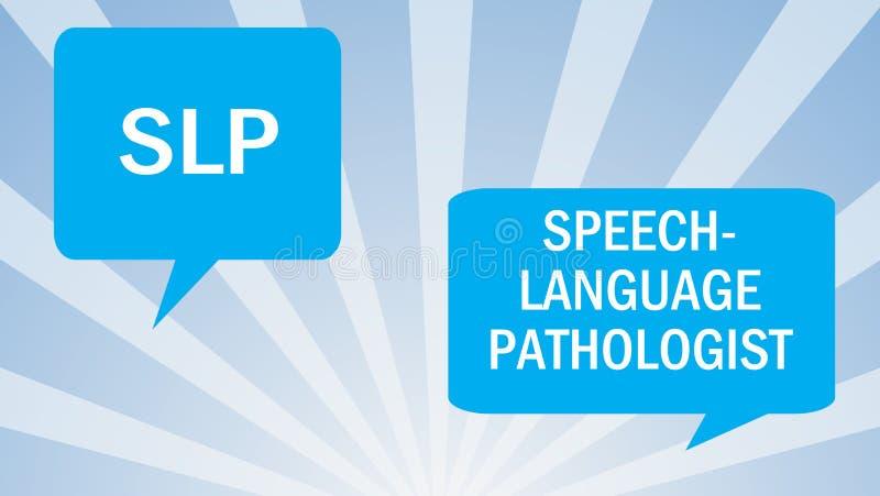 Παθολογία λεκτικής γλώσσας απεικόνιση αποθεμάτων