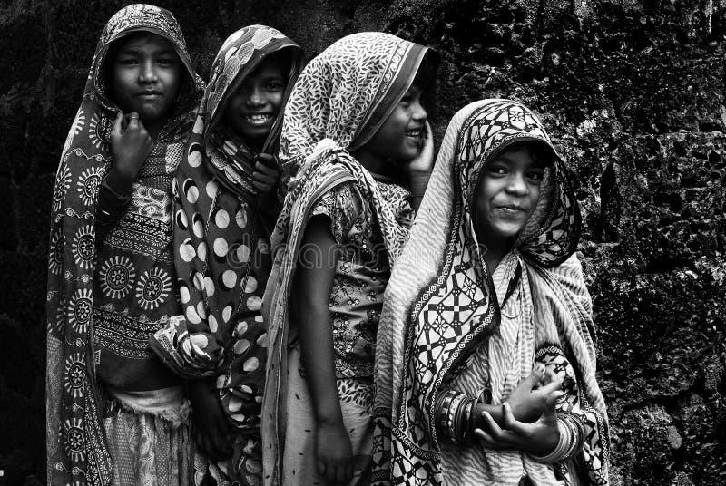 Παιδί κοριτσιών στην Ινδία στοκ εικόνα με δικαίωμα ελεύθερης χρήσης