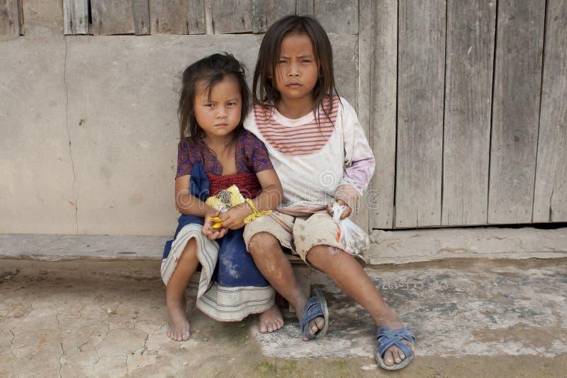 παιδί Λάος της Ασίας στοκ εικόνα με δικαίωμα ελεύθερης χρήσης