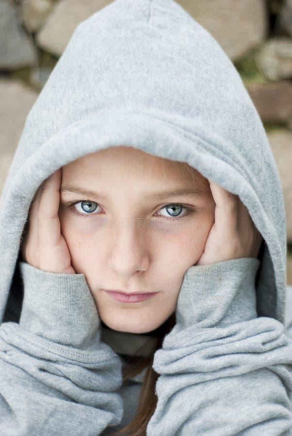 παιδί λυπημένο στοκ φωτογραφία