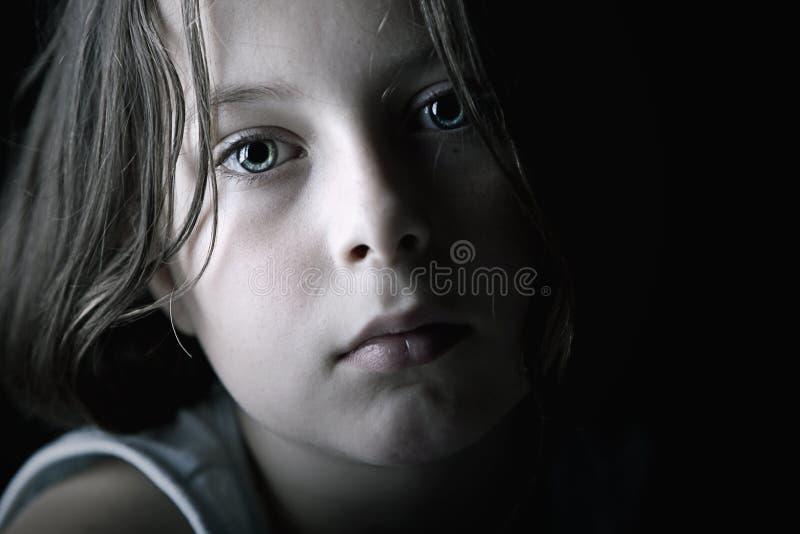 παιδί λυπημένο στοκ εικόνες