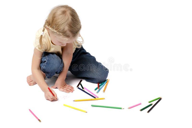 παιδί τέχνης στοκ φωτογραφία με δικαίωμα ελεύθερης χρήσης