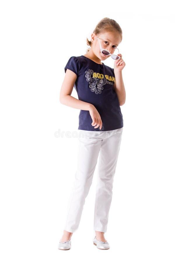 παιδί τα γυαλιά ηλίου της στοκ φωτογραφίες με δικαίωμα ελεύθερης χρήσης