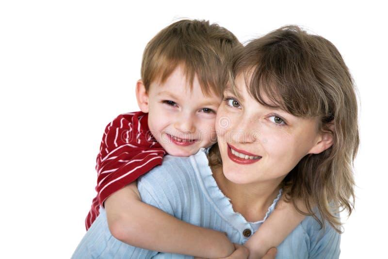 παιδί happy mother στοκ φωτογραφία με δικαίωμα ελεύθερης χρήσης