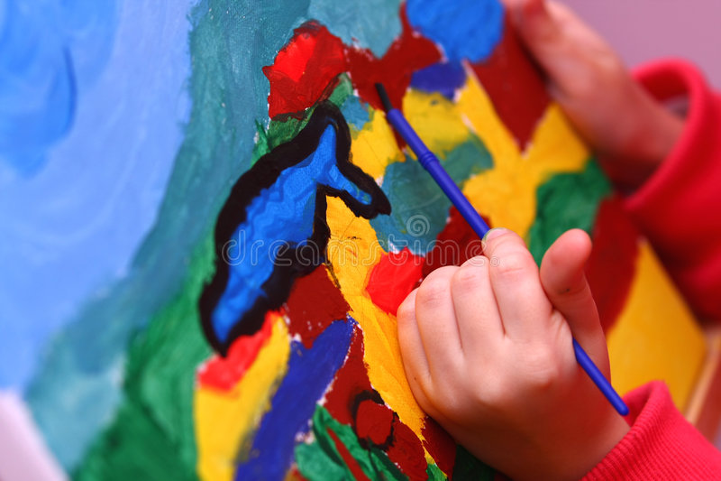 παιδί s τέχνης