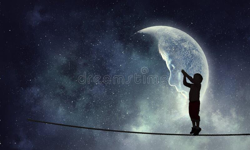 Παιδαριώδη γλυκά όνειρα στοκ εικόνες