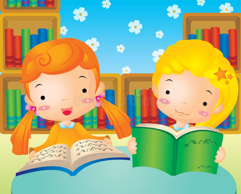 παιδιά βιβλίων που διαβάζ&om