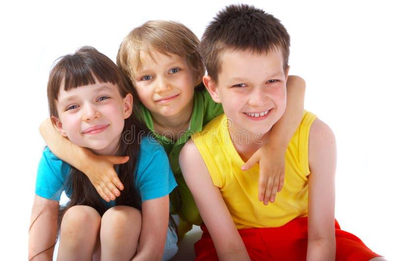 παιδιά ευτυχή στοκ εικόνα