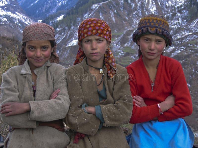 παιδιά Ιμαλάια στοκ εικόνα με δικαίωμα ελεύθερης χρήσης