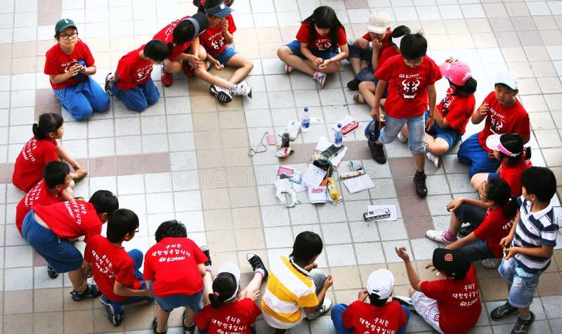 παιδιά Κορεάτης στοκ φωτογραφία
