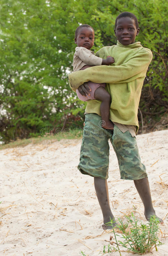 παιδιά της Αφρικής στοκ εικόνα με δικαίωμα ελεύθερης χρήσης
