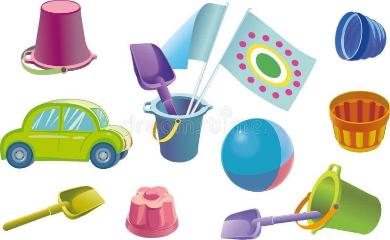 παιδιά s toys1 στοκ εικόνες