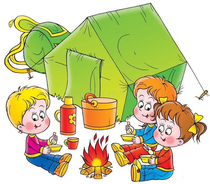 παιδική ηλικία 021 διανυσματική απεικόνιση