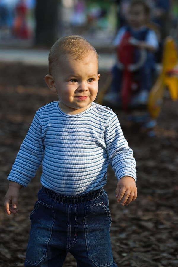 παιδική χαρά μωρών στοκ φωτογραφίες