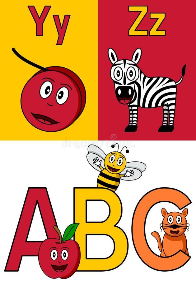 παιδικός σταθμός Υ ζ αλφά&beta απεικόνιση αποθεμάτων