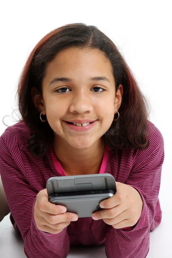 παιδιών κινητών τηλεφώνων στοκ φωτογραφία με δικαίωμα ελεύθερης χρήσης