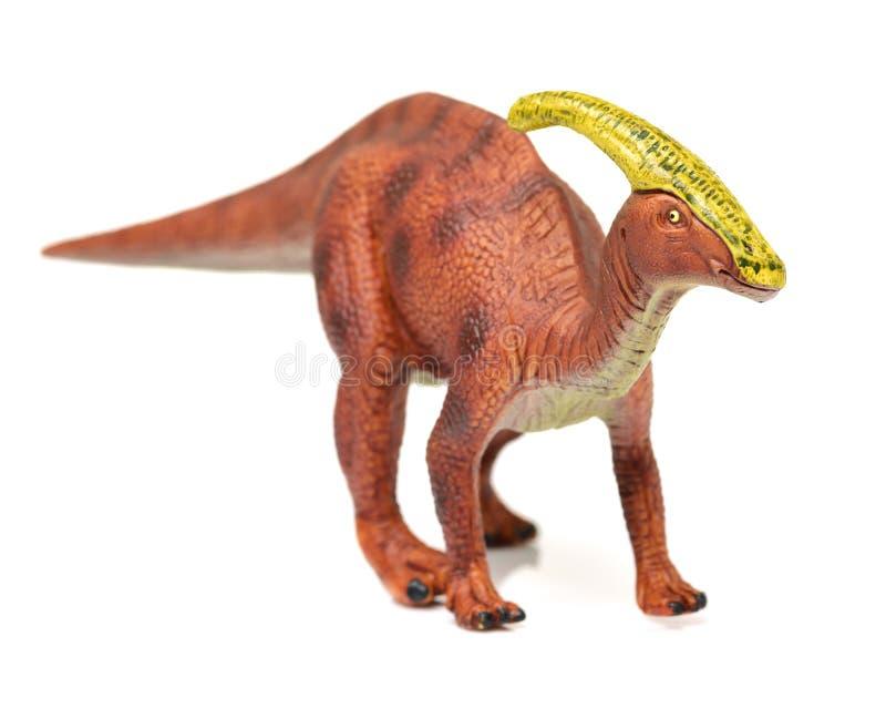 Παιχνίδια δεινοσαύρων Parasaurolophus στοκ εικόνα