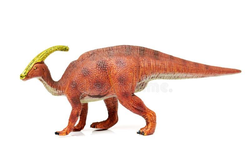 Παιχνίδια δεινοσαύρων Parasaurolophus στοκ εικόνες