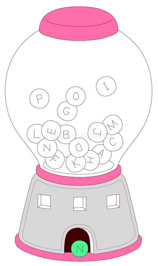 παιχνίδια επιστολών απεικόνιση αποθεμάτων