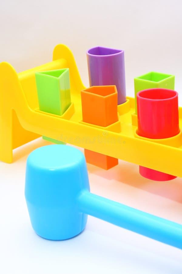 παιχνίδια εργαλείων ξυλ&om στοκ εικόνες με δικαίωμα ελεύθερης χρήσης