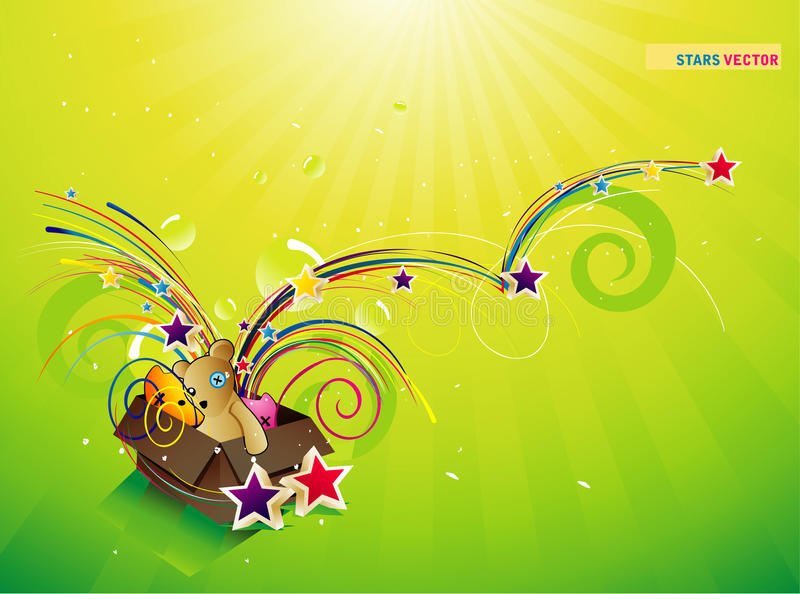 Download παιχνίδια κιβωτίων διανυσματική απεικόνιση. εικονογραφία από σύνθεση - 13190391