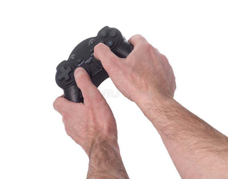 παιχνίδια που παίζουν το βίντεο στοκ εικόνες με δικαίωμα ελεύθερης χρήσης