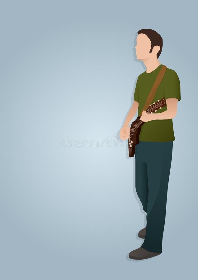 παιχνίδι ατόμων κιθάρων στοκ φωτογραφίες με δικαίωμα ελεύθερης χρήσης