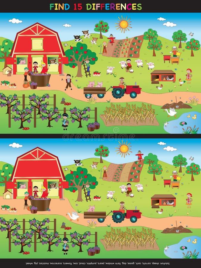 Παιχνίδι για τα παιδιά απεικόνιση αποθεμάτων