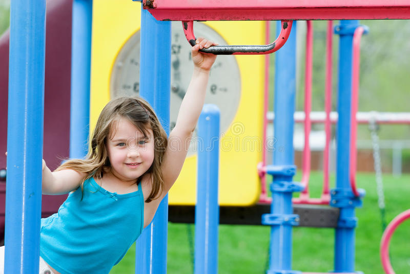 παιχνίδι παιδικών χαρών παι&delta στοκ φωτογραφίες