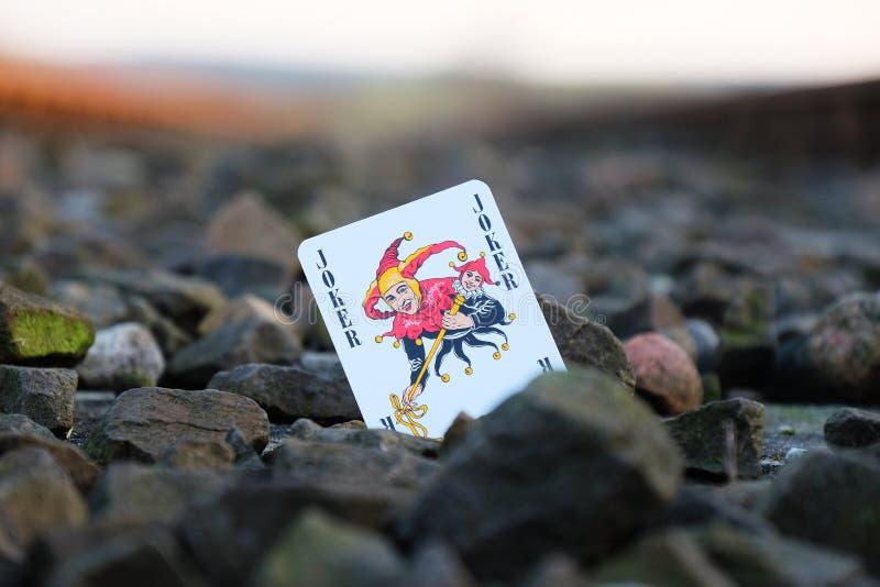 παιχνίδι πλακατζών καρτών στοκ εικόνες