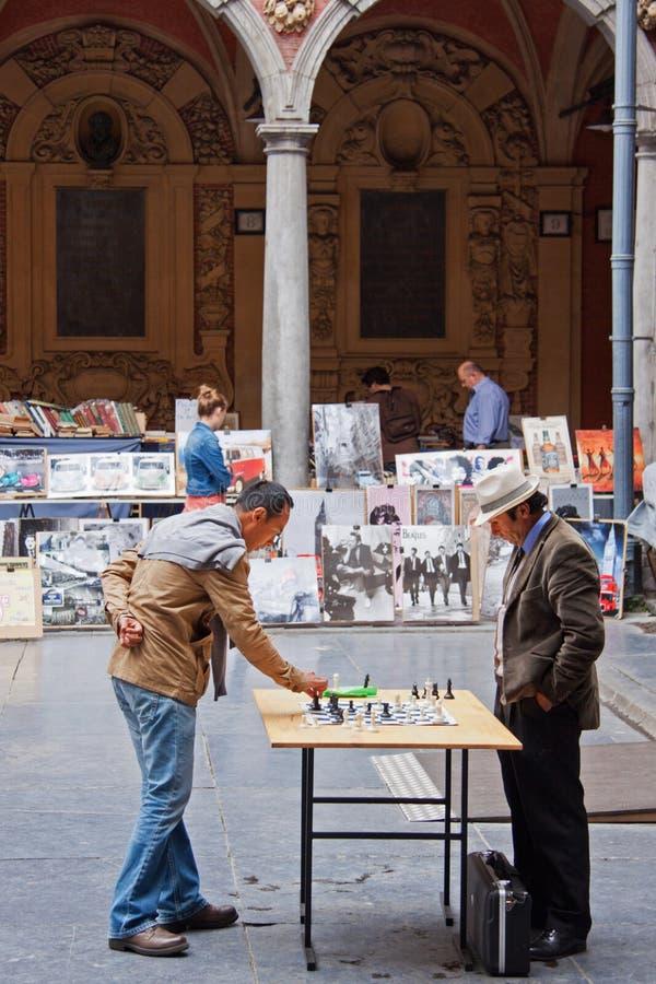 Παιχνίδι σκακιού στοκ εικόνες με δικαίωμα ελεύθερης χρήσης