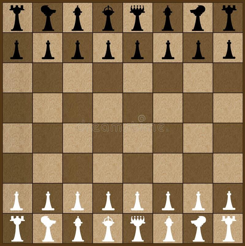 παιχνίδι σκακιού ελεύθερη απεικόνιση δικαιώματος