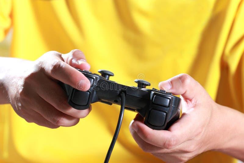 Παιχνίδι στον υπολογιστή παιχνιδιού στοκ φωτογραφία με δικαίωμα ελεύθερης χρήσης