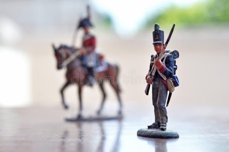 παιχνίδι στρατιωτών στοκ φωτογραφία