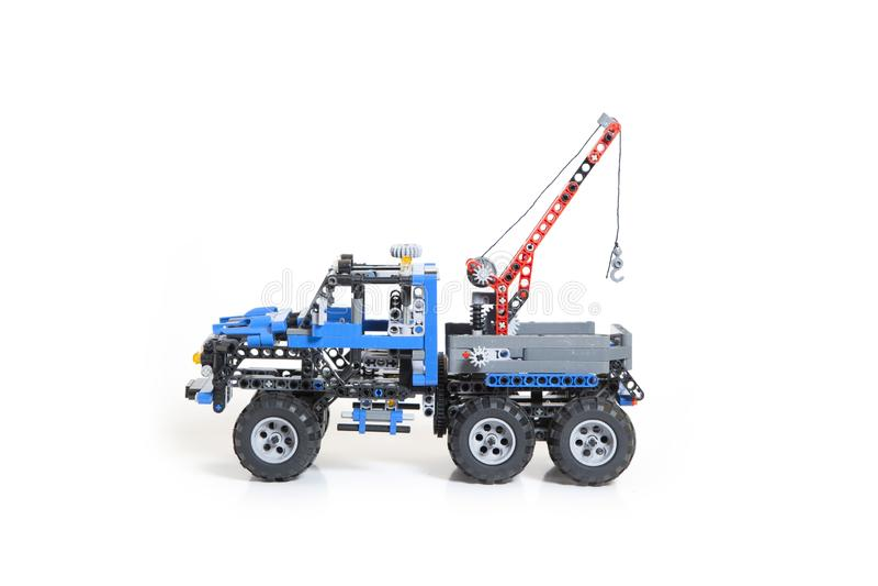 Παιχνίδι φορτηγών Lego στοκ εικόνες
