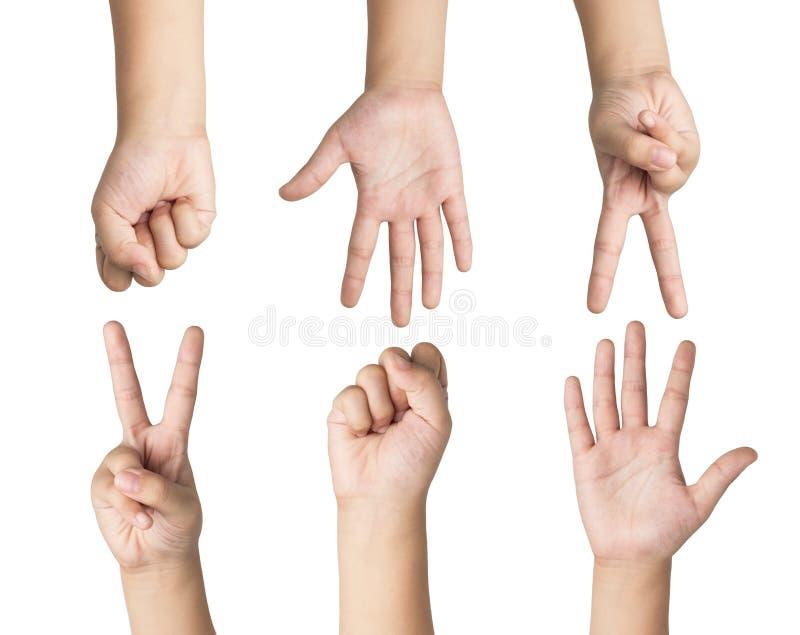 Παιχνίδι χεριών στοκ εικόνες