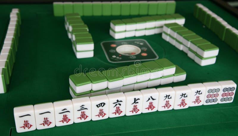 παιχνίδι mahjong στοκ εικόνες με δικαίωμα ελεύθερης χρήσης