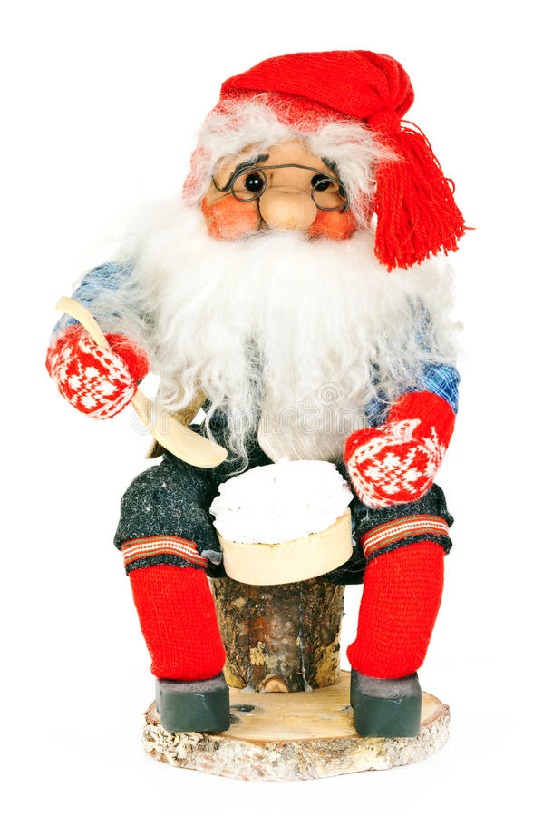 παιχνίδι santa Claus στοκ εικόνες