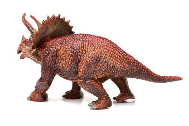 Παιχνίδι αριθμού δεινοσαύρων Styracosaurus στοκ εικόνες με δικαίωμα ελεύθερης χρήσης