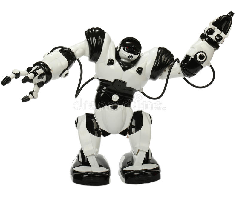 Παιχνίδι ρομπότ στοκ φωτογραφία