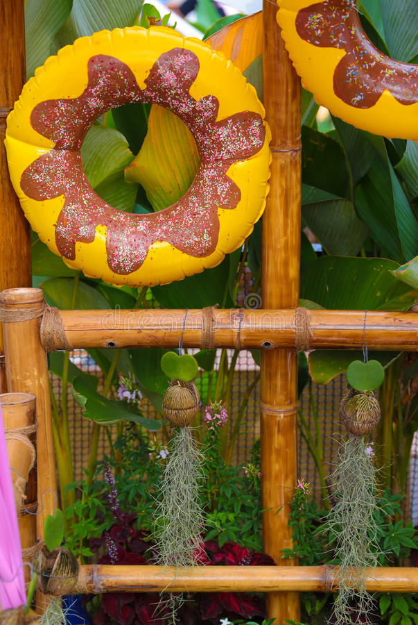 Παιχνίδι σημαντήρων ζωής που χρωματίζεται ως doughnut στοκ εικόνες με δικαίωμα ελεύθερης χρήσης
