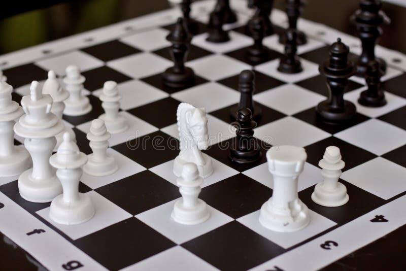 Παιχνίδι του σκακιού στοκ φωτογραφία
