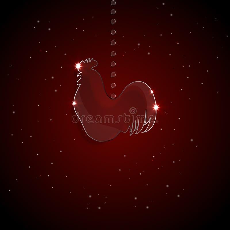 Παιχνίδι Χριστουγέννων για το δέντρο απεικόνιση αποθεμάτων