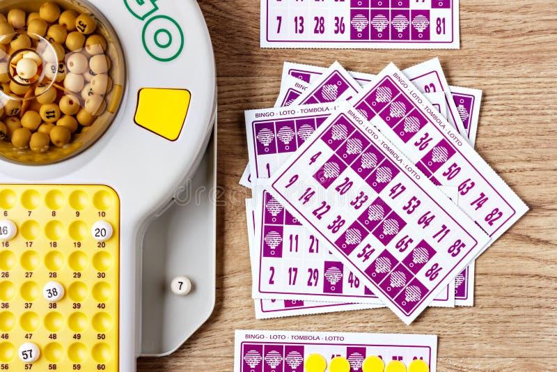 Παιχνίδι Bingo στοκ εικόνες