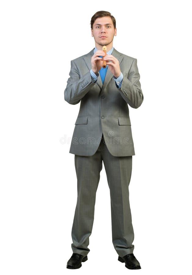 Παιχνίδι fife επιχειρηματιών στοκ εικόνες