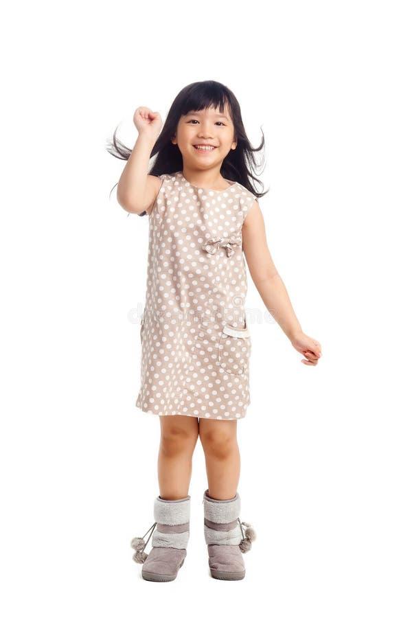Παιδί μόδας με τη διασκέδαση στοκ φωτογραφία με δικαίωμα ελεύθερης χρήσης