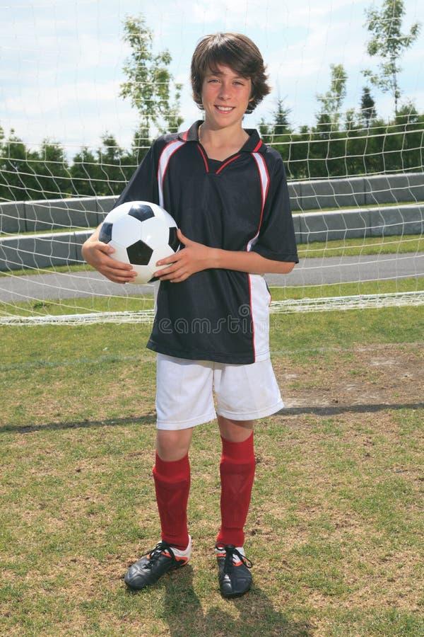 Παιδί ποδοσφαίρου στοκ εικόνες
