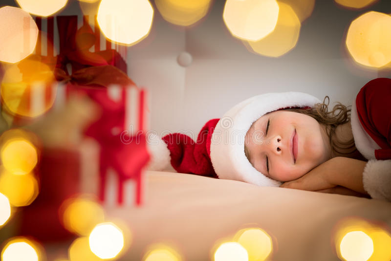 Παιδί Χριστουγέννων Χριστουγέννων διακοπές χειμώνας στοκ εικόνες με δικαίωμα ελεύθερης χρήσης