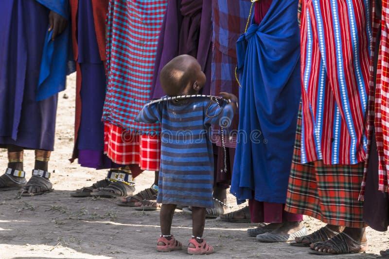 Παιδί Maasai στοκ εικόνα με δικαίωμα ελεύθερης χρήσης